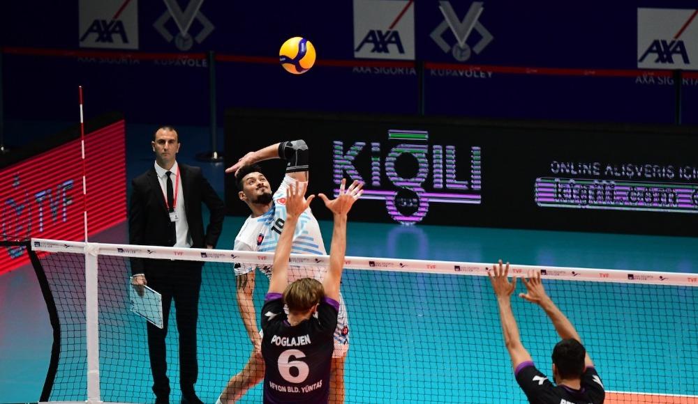 Halkbank, Afyon Belediye YÜNTAŞ'ı 3-1 yendi