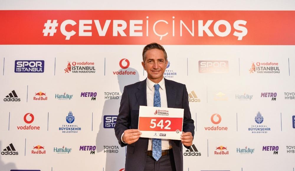 Vodafone 15. İstanbul Yarı Maratonu için geri sayım başladı