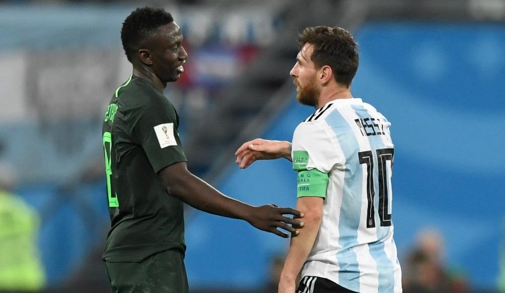 Lionel Messi'nin belalısı, Oghenekaro Etebo