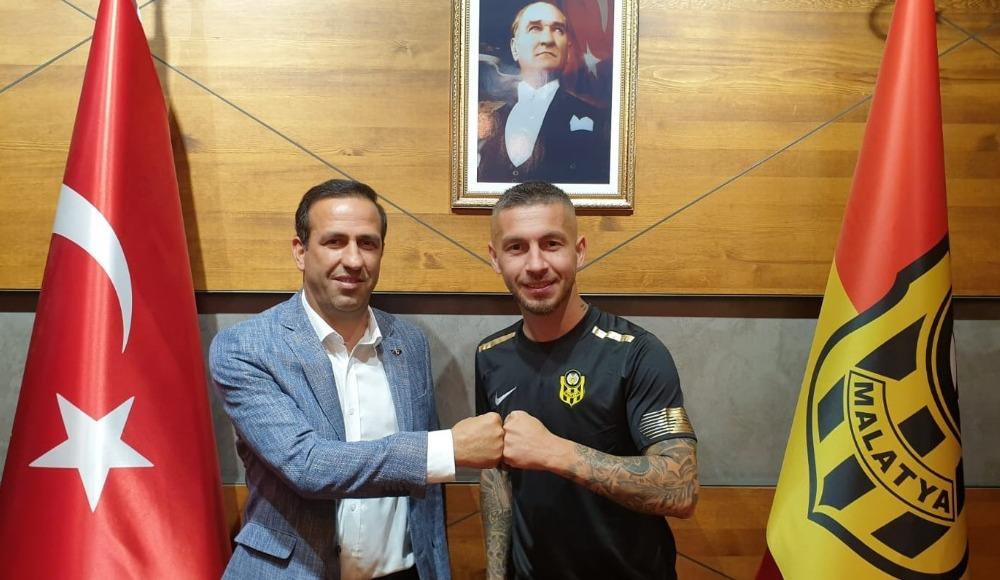Yeni Malatyaspor Adem Büyük'ü açıkladı