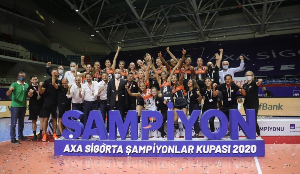 Şampiyonlar Kupası'nda şampiyon Eczacıbaşı VitrA
