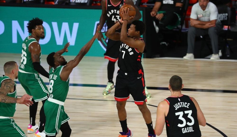 İki uzatma sonunda kazanan Toronto Raptors seriyi son maça taşıdı