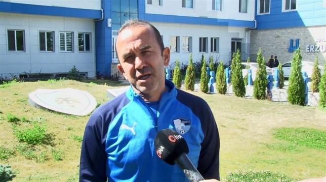 """Mehmet Özdilek: """"Sahada her maçı kazanmak için her türlü mücadeleyi vereceğiz"""""""