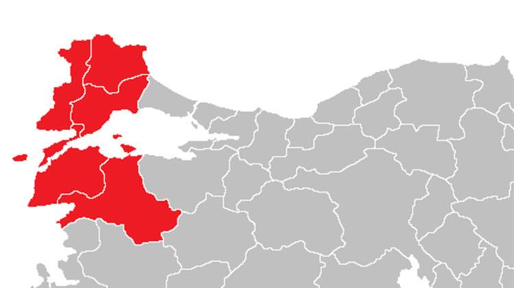 Batı Marmara'da 12 yeni vaka görüldü