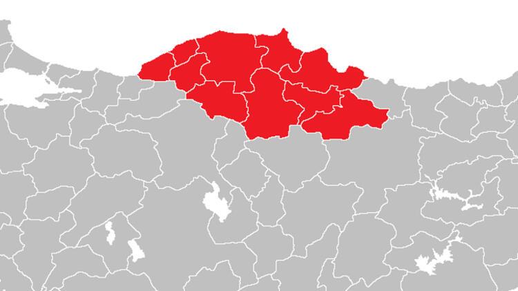 Batı Karadeniz'de 97 yeni vaka görüldü.