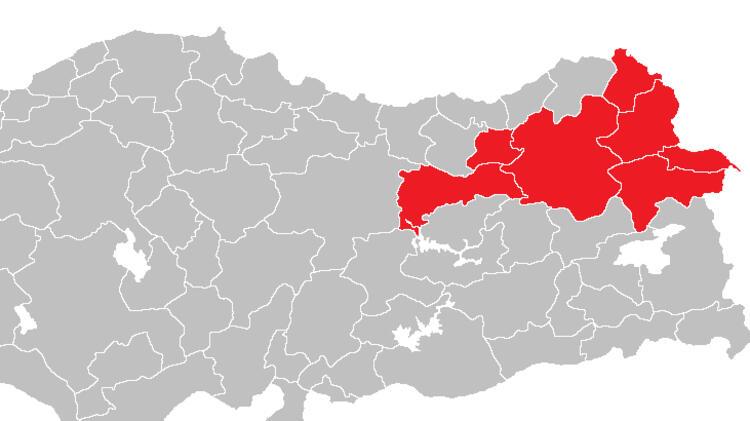 Kuzeydoğu Anadolu'da 80 yeni vaka görüldü.