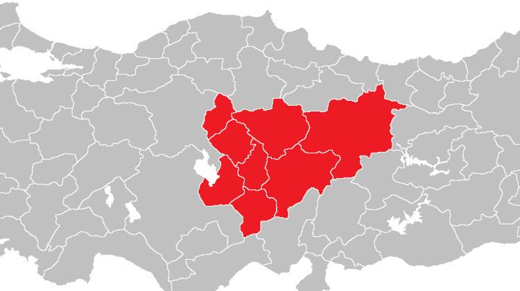 Orta Anadolu'da 220 yeni vaka görüldü.