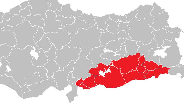 Güneydoğu Anadolu'da 147 yeni vaka görüldü.