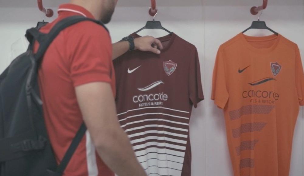 Hatayspor yeni sezon formalarını tanıttı