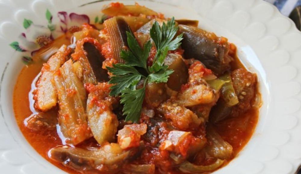 Patlıcan silkme yemeği nasıl yapılır? Tarifi...