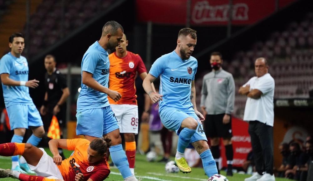 Gaziantep FK oyuncuları, Galatasaray maçını değerlendirdi
