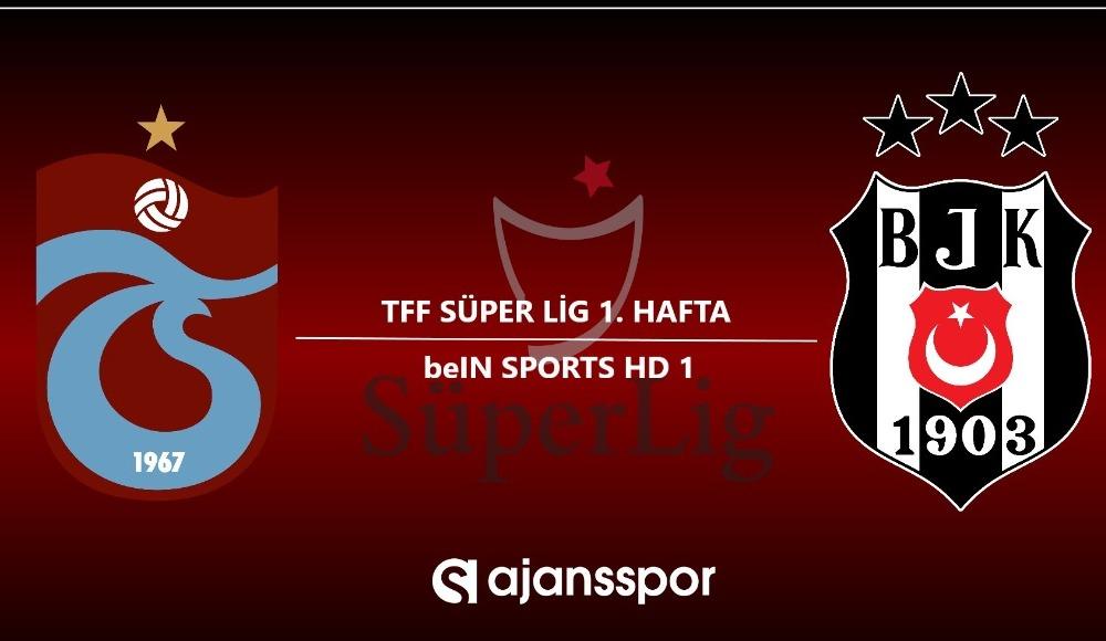 Trabzonspor - Beşiktaş (Canlı Skor)