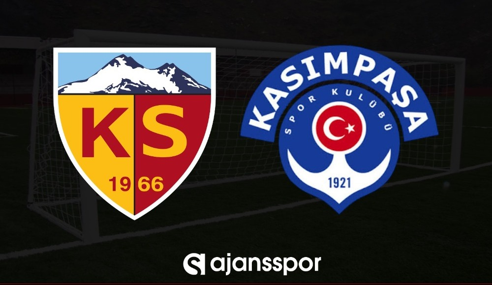 Kayserispor - Kasımpaşa (Canlı Skor)
