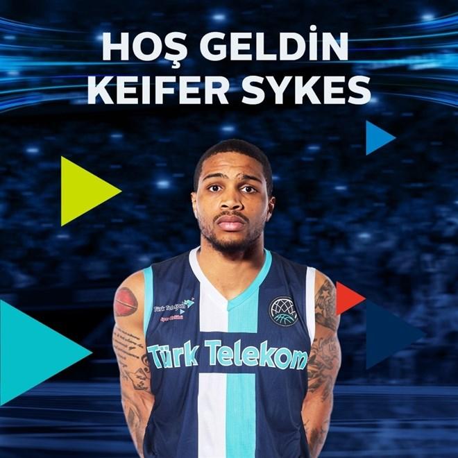 Türk Telekom, Keifer Sykes'ı kadrosuna kattı
