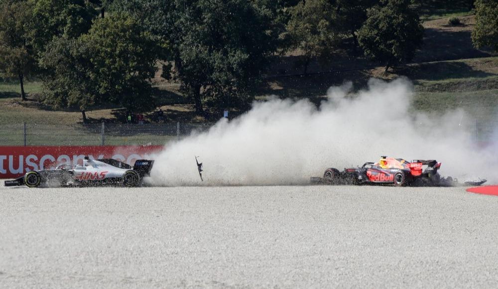 Formula 1 Toskana Grand Prix'ine kazalar damga vurdu