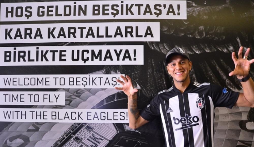 """""""Beşiktaş ailesine katıldığım için çok mutluyum"""""""