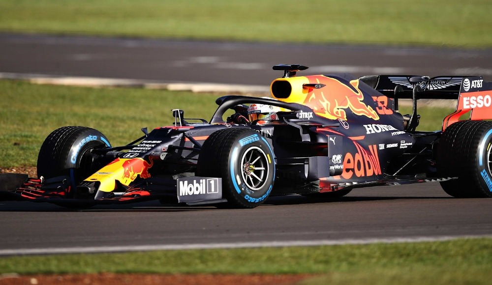 2020 Formula 1 Toskana Grand Prix'sinde Alex Albon rüzgarı