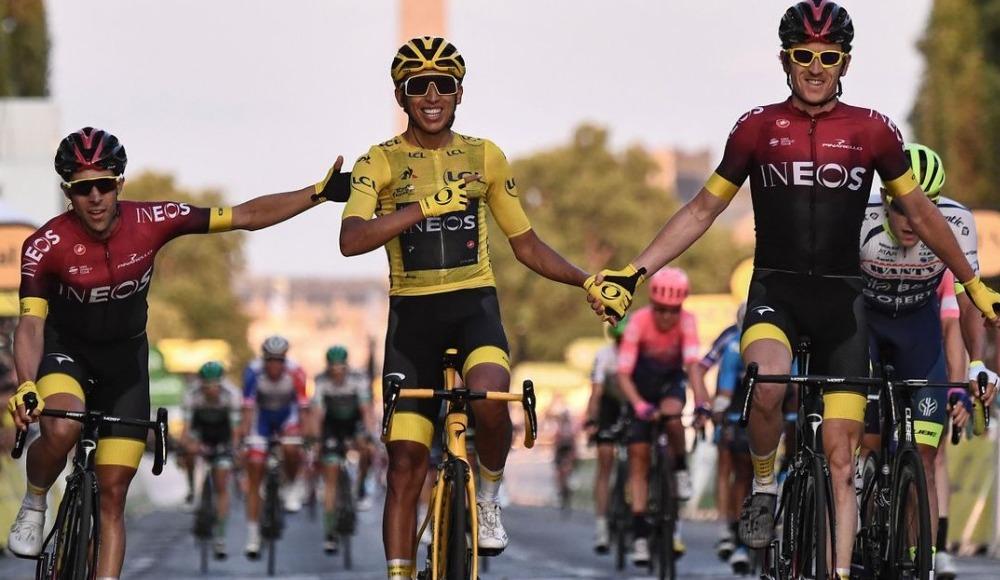 Fransa Bisiklet Turu'nda şok
