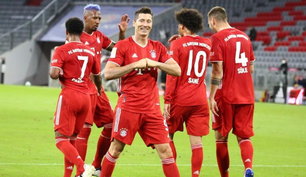 Bayern'den boş tribünlere gol şov: 8-0