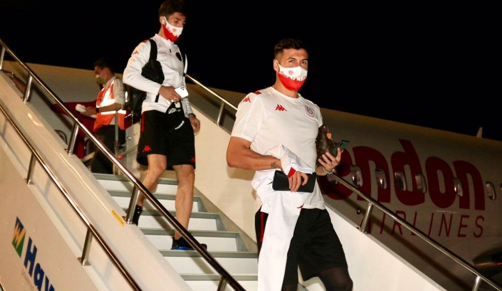 Ve Antalyaspor kafilesi İstanbul'da!