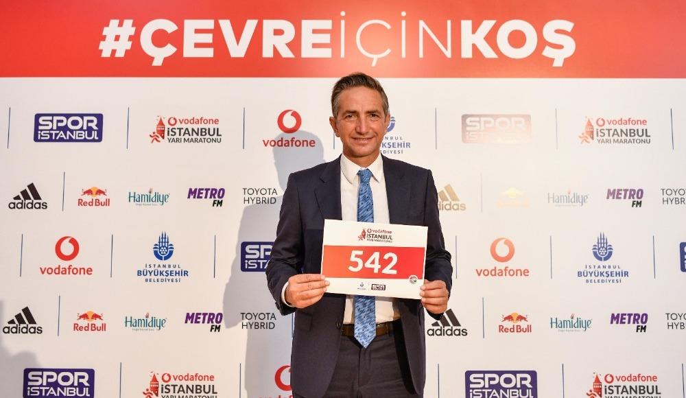 Vodafone'dan yarı maratona çevre desteği