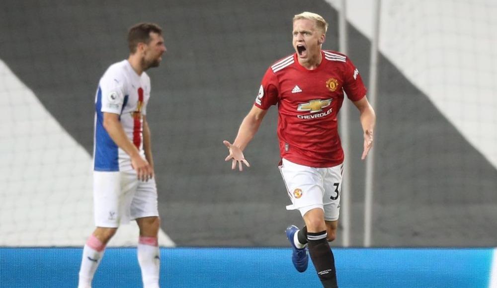 Donny van de Beek siftah yaptı, United kazanamadı