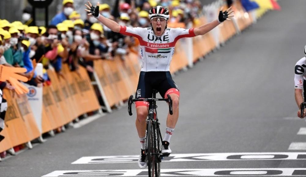 Fransa Bisiklet Turu'nda Pogacar tarihe geçti!