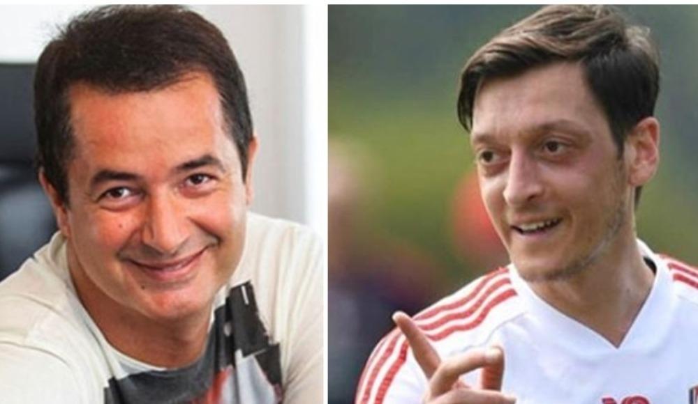 Acun Ilıcalı ile Mesut Özil arasındaki diyalog heyecanlandırdı!