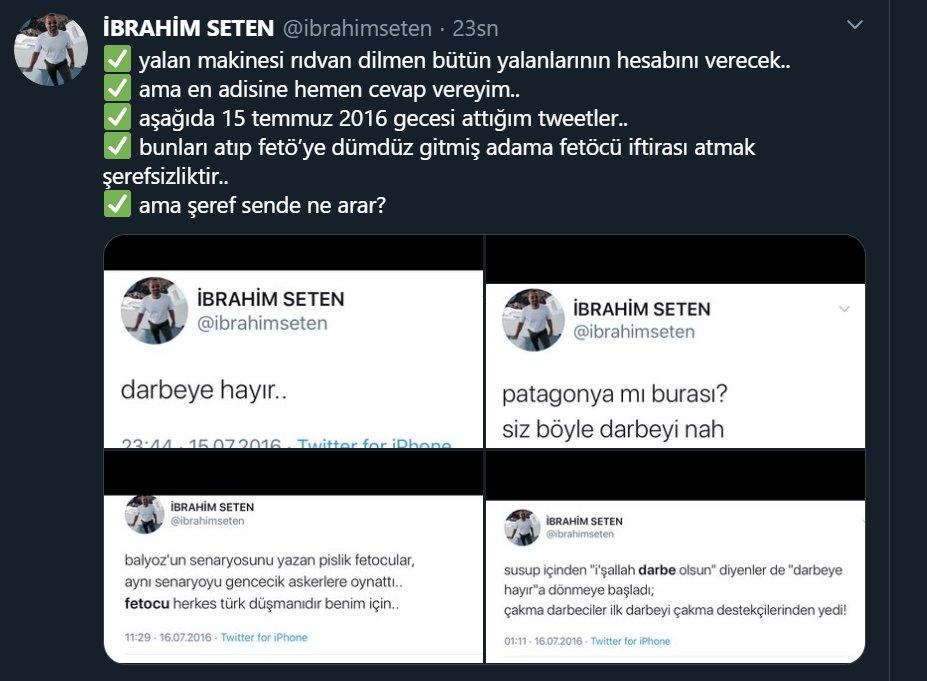 İbrahim Seten: ''Rıdvan Dilmen, hesabını verecek!''