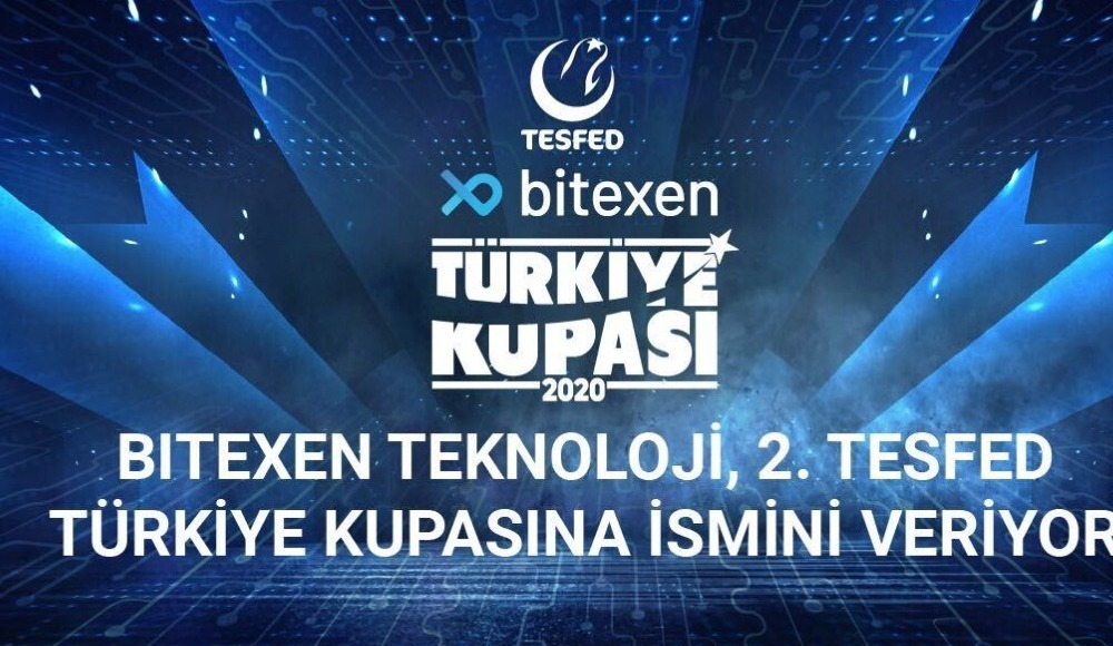 Bitexen teknoloji 2. Tesfed, Türkiye Kupası'na ismini veriyor