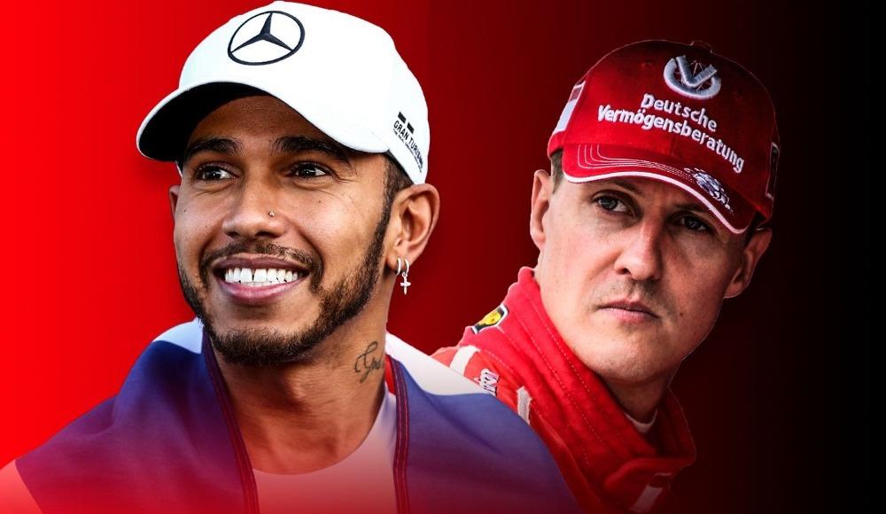 """Schumacher: """"Lewis Hamilton bu zamanın en iyisi"""""""