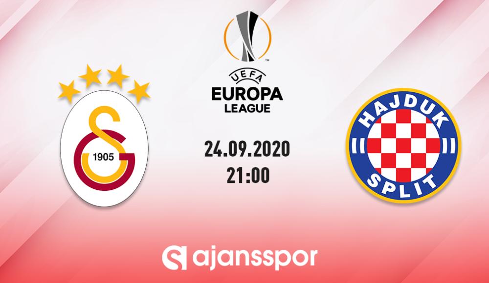 Galatasaray - Hajduk Split (Canlı Skor)