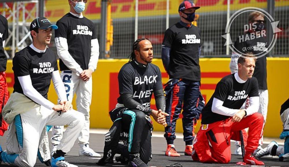Formula 1 ırkçılığa karşı birleşiyor