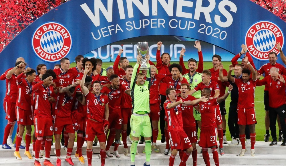 UEFA Süper Kupa şampiyonu Bayern Münih!
