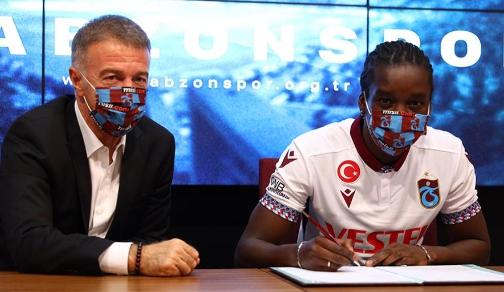 Fousseni Diabate, resmen Trabzonspor'da!