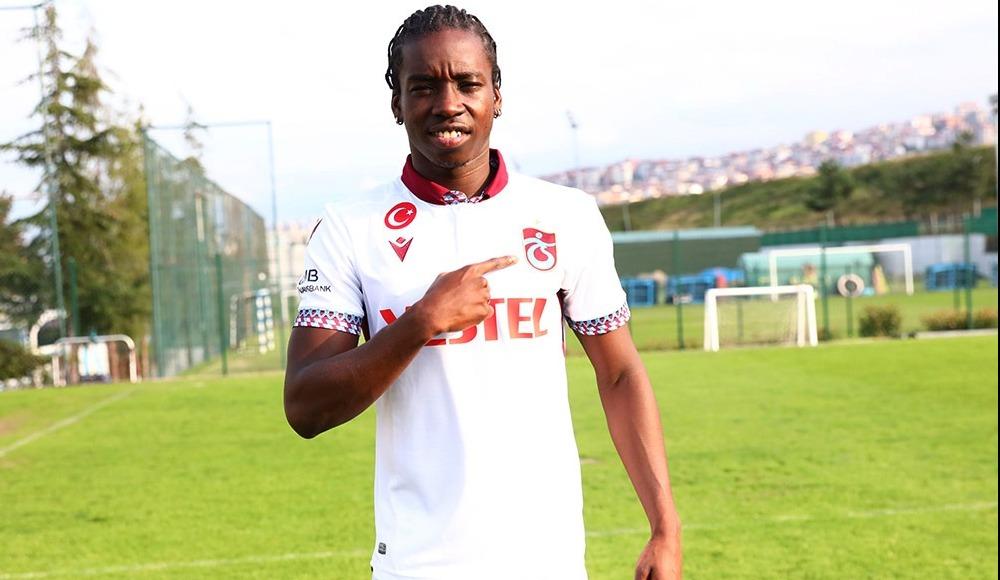 Trabzonspor'da Diabate gelir gelmez jestini yaptı!