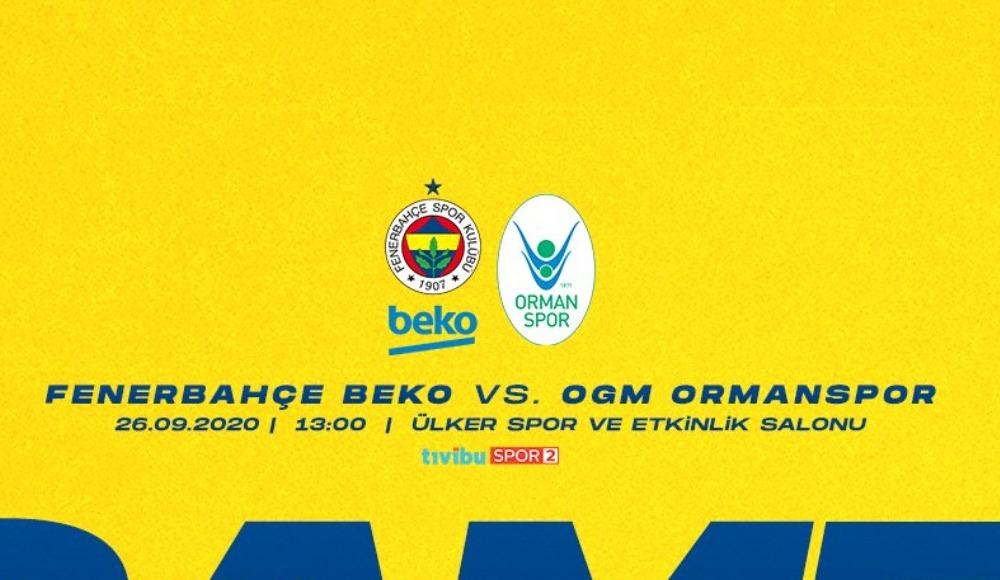 Fenerbahçe Beko - Ormanspor (Canlı Skor)