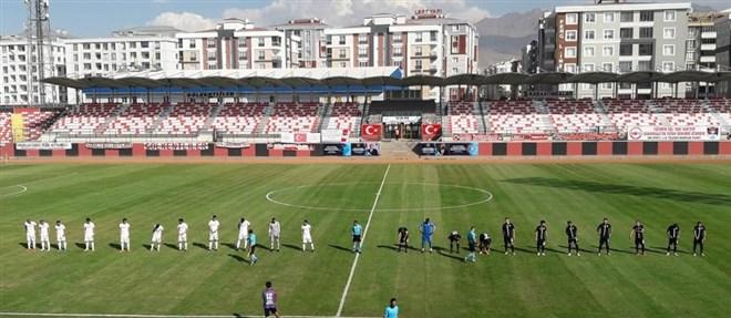 Van Spor FK ile Kırklarelispor yenişemedi