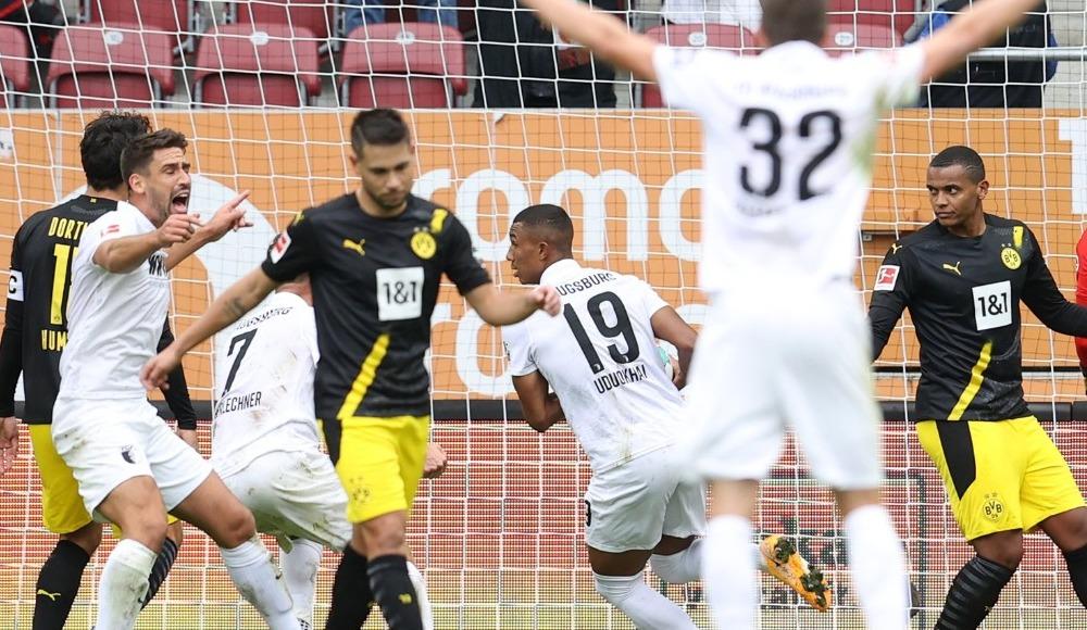 Dortmund'a Augsburg şoku!