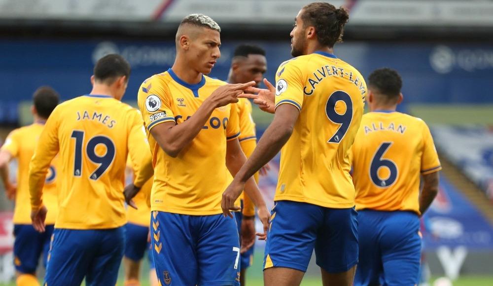 Everton 27 yıl sonra 3'te 3 ile başladı