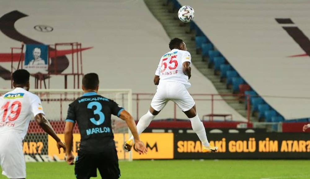 Lukoki ve Benjamin Tetteh, Trabzonspor maçını değerlendirdi