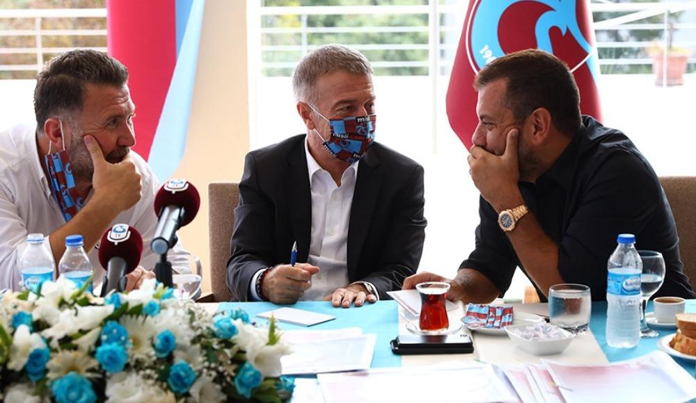 Trabzonspor'dan flaş Guilherme, Trondsen ve Hosseini açıklaması!