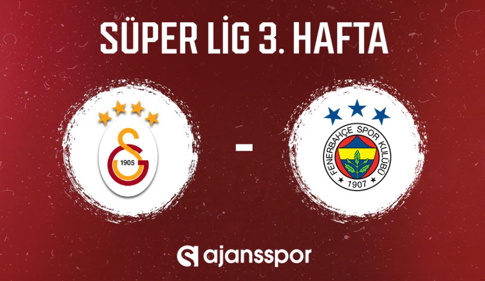 Galatasaray - Fenerbahçe (Canlı Skor)