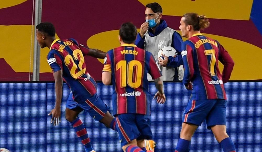 Koeman'lı Barcelona farklı başladı
