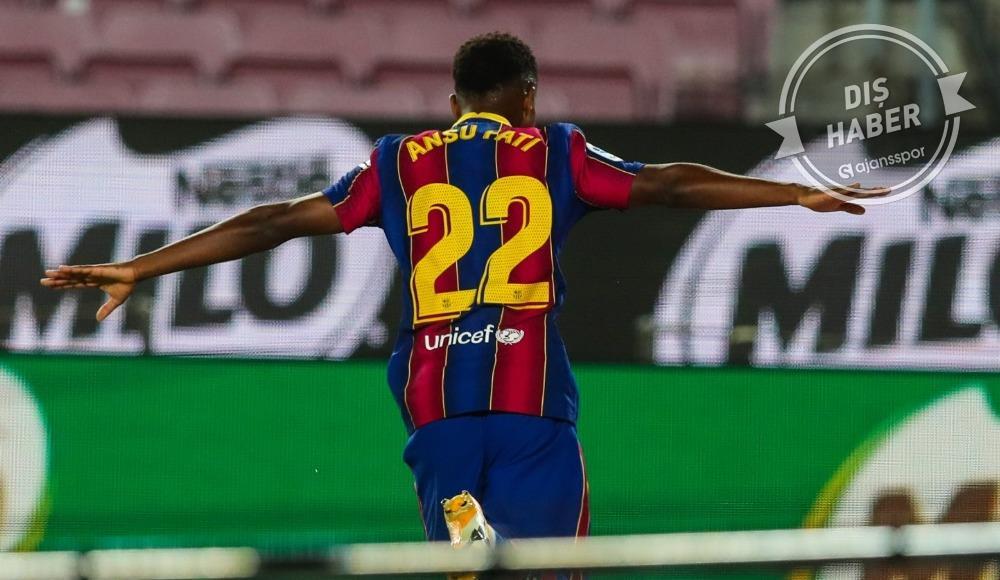Ansu Fati, La Liga'yı alt üst etmeye devam ediyor