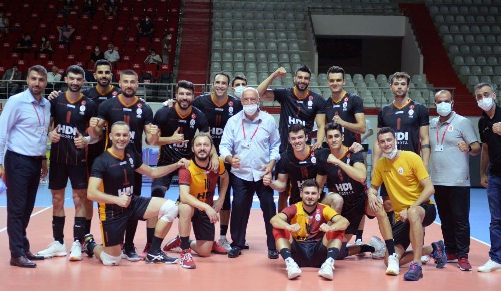 Galatasaray HDI Sigorta, Ziraat Bankkart'ı 3-0 yendi