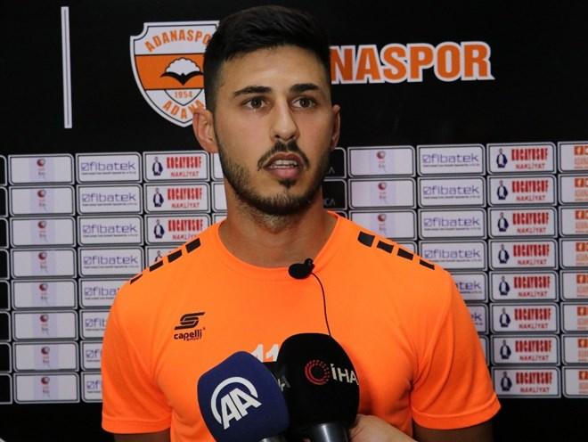 """Eren Keleş: """"Adana Demirspor maçının ciddiyetinin farkındayız"""""""