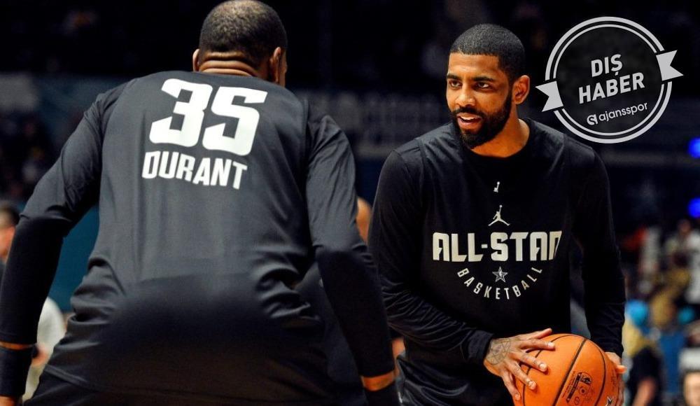 Kevin Durant açıkladı! Irving ile beraber...