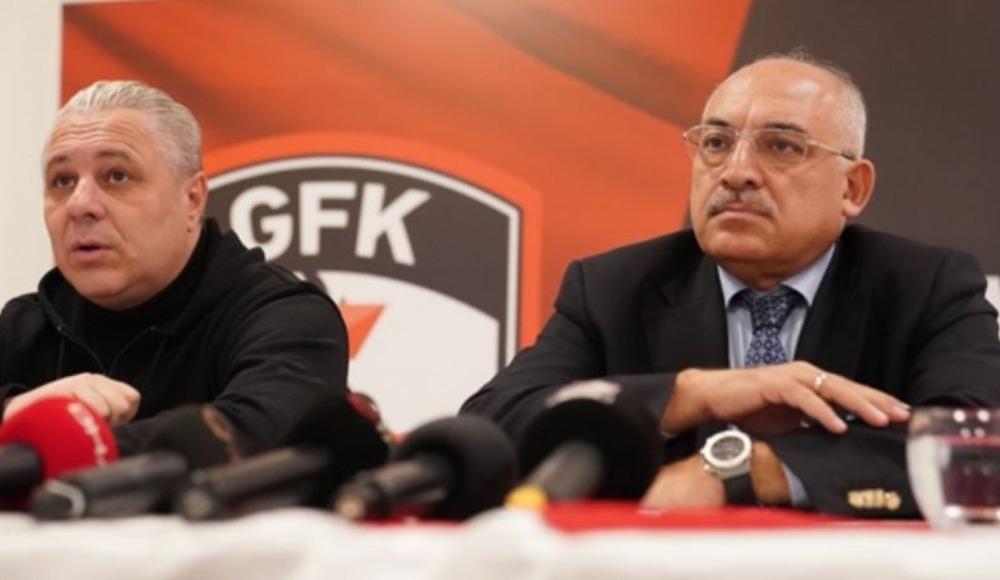 Gaziantep FK yönetiminde görev dağılımı yapıldı