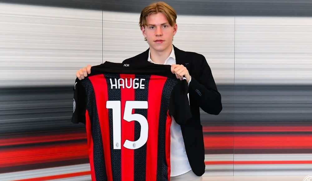 Milan, Hauge'ı transfer etti